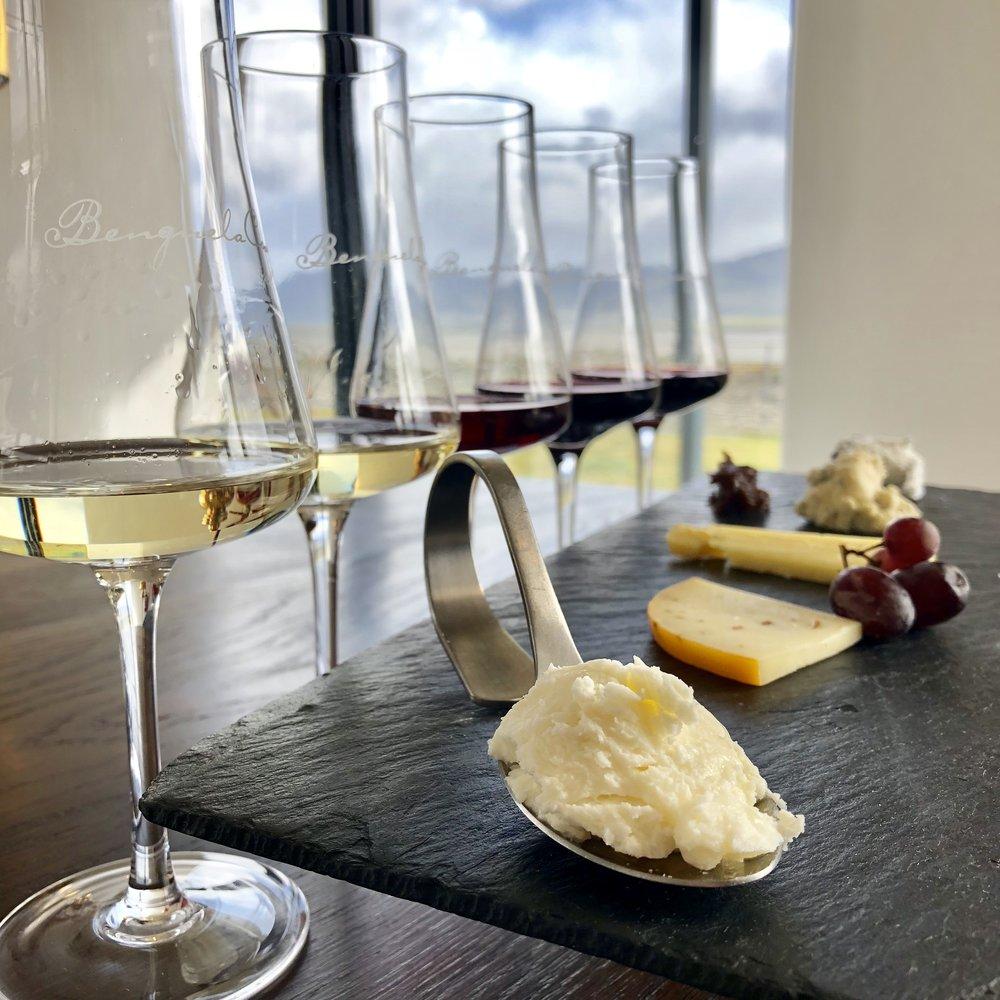 cheese and wine pairing -