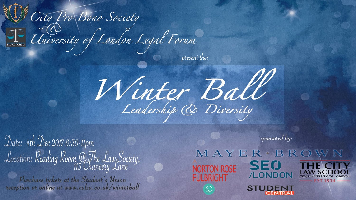 Opportunities soas law society the london legal forum leadership and diversity winter ball madrichimfo Images