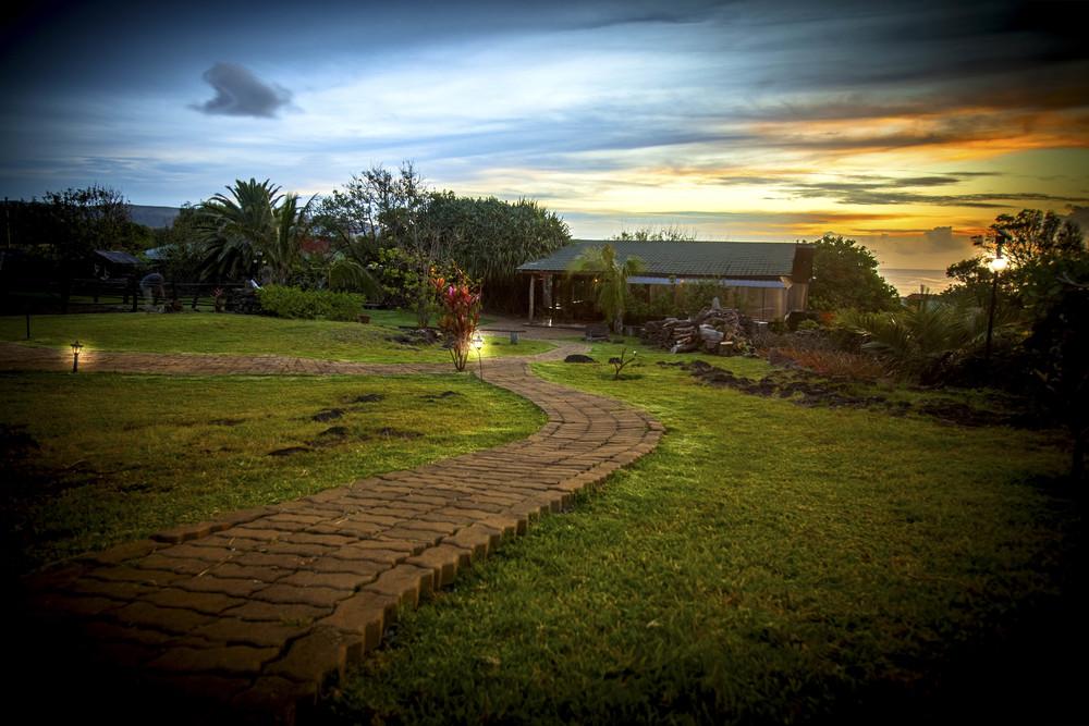 Alojamiento en isla de Pascua - Pikera Uri Lodge - Descubre la magia de nuestro lodge.
