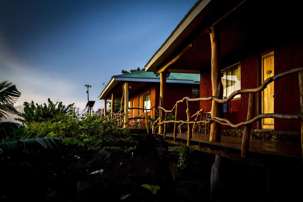 Alojamiento Isla de Pascua - Pikera Uri Lodge - Ra'a 2