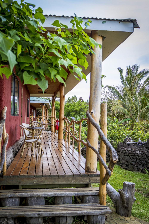 Alojamiento Isla de Pascua - Pikera Uri Lodge - Ra'a 1