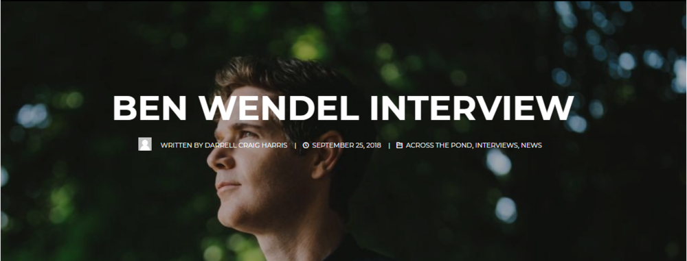 ben wendel interview.PNG