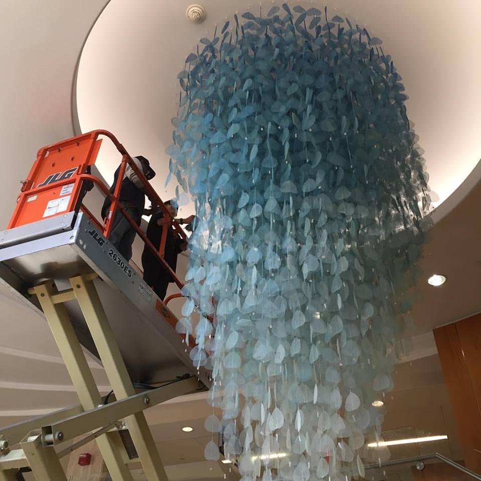 Public Artwork Installation, Montefiore Hospital, Bronx