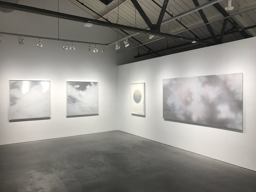 """OBOROZUKI"" (THE MOON OBSCURED BY CLOUDS"" SOLO EXHIBITION NANCY TOOMEY GALLERY SAN FRANCISCO 2018"