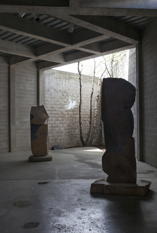 "NOGUCHI MUSEUM SOLO EXHIBITION: ""CLOUDS"" Photo: Elizabeth Felicella. ©The Isamu Noguchi Foundation and Garden Museum, NY / ARS. 2018"