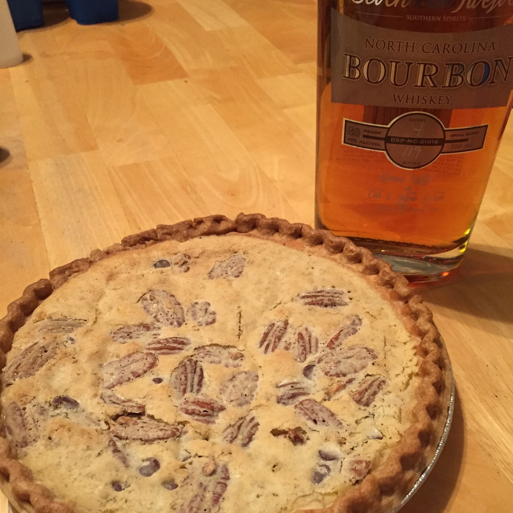 Bourbon German Chocolate Pie