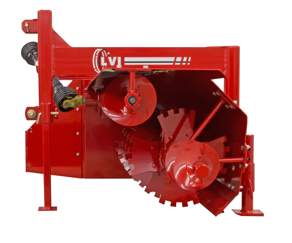 JR60 Poultry Litter Windrower Machine Auger
