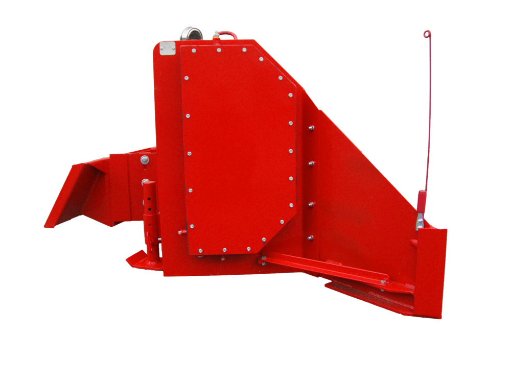 SLC-HD Poultry Litter Windrower Machine Side