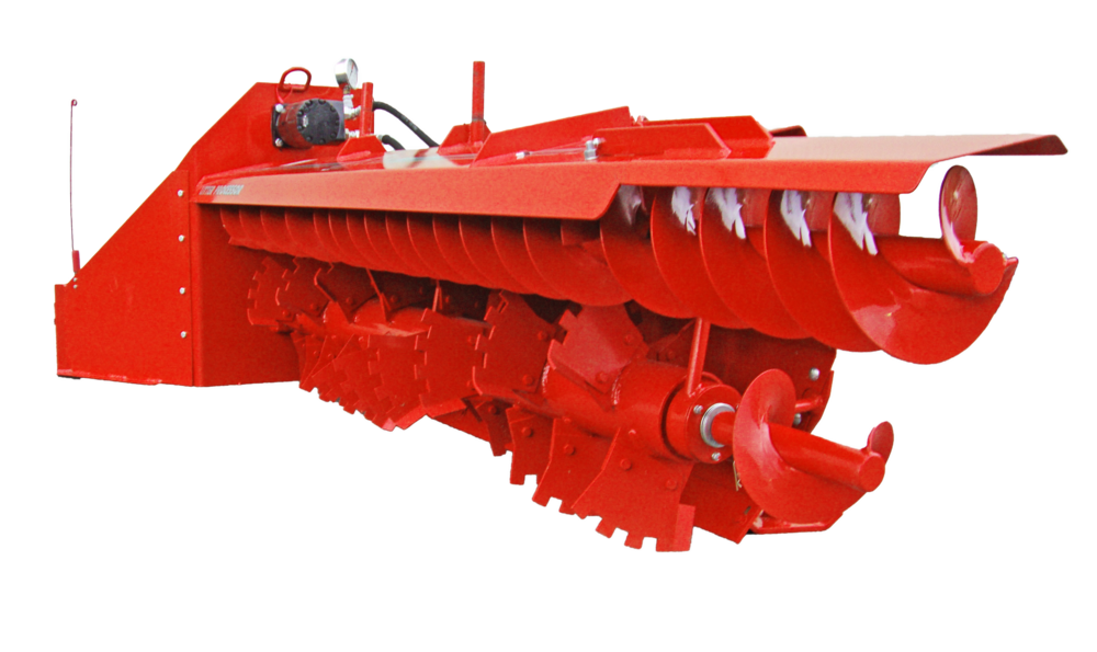 SLC-HD Poultry Litter Windrower Machine Auger
