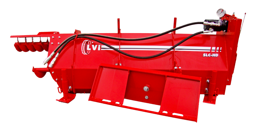 SLC-HD Poultry Litter Windrower Machine Back