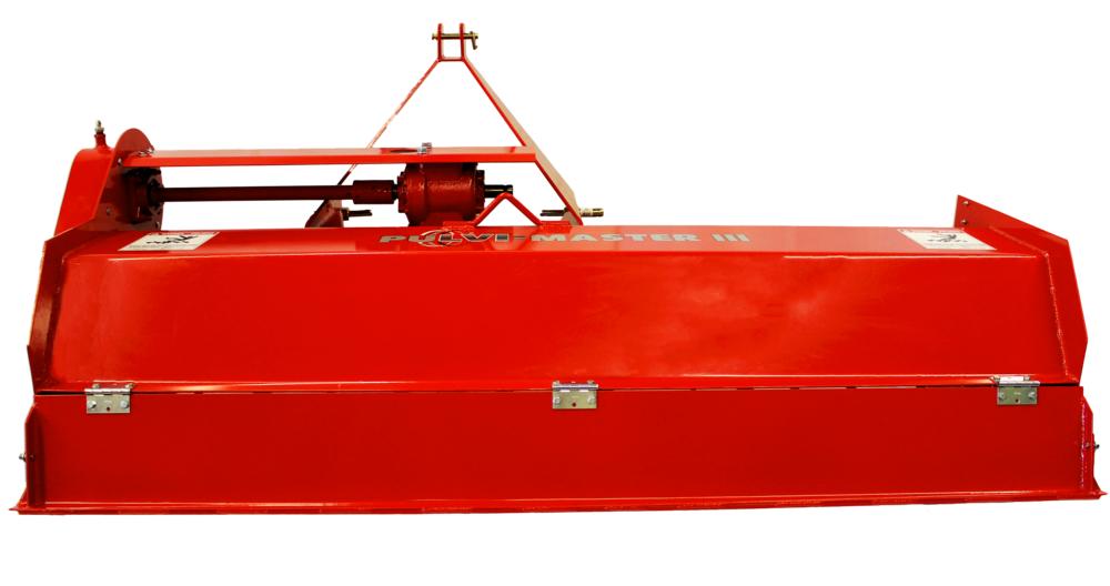 PuLVI-Master III Poultry Litter Pulverizer Back