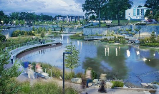 NYT: A Glorified Sidewalk, And A Path To Transform Atlanta→ Nice Design