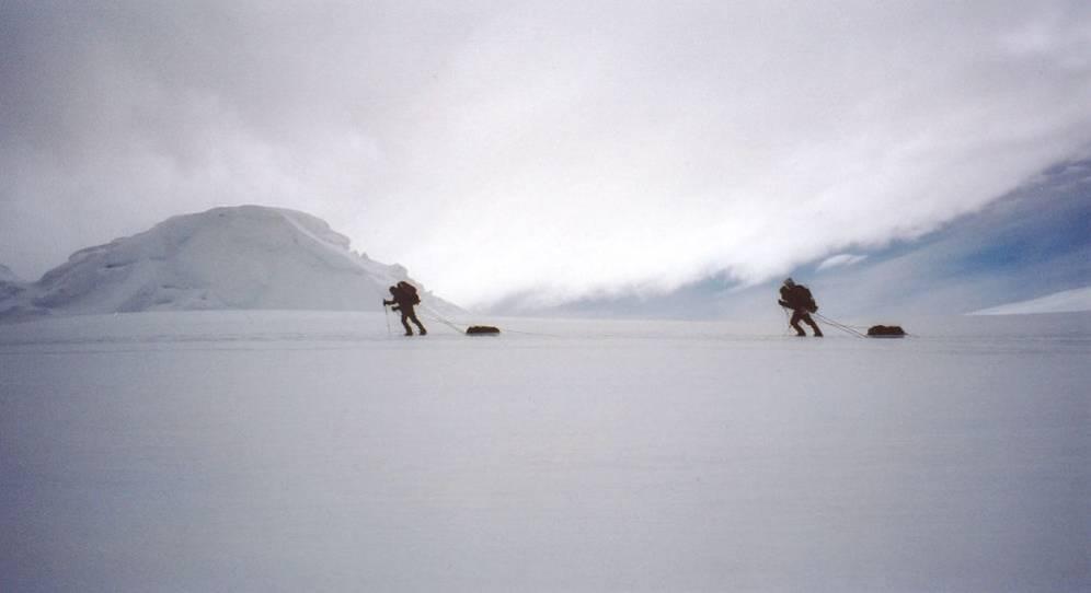 Talkeetna glacier in Alaska