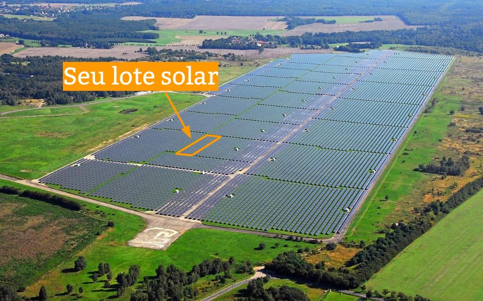 Usina Solar de 5 MW cada em vários Estados. Foto meramente ilustrativa.