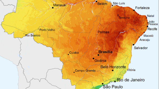 brasil solargis radiação solar