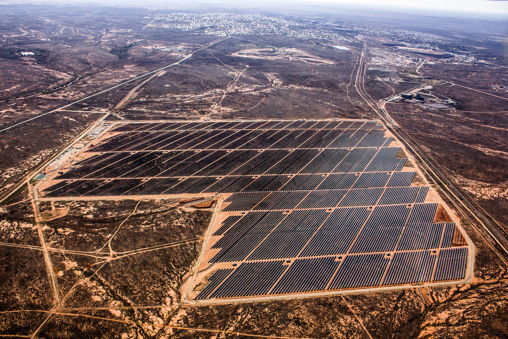 Usina fotovoltaica AGL Broken Hill