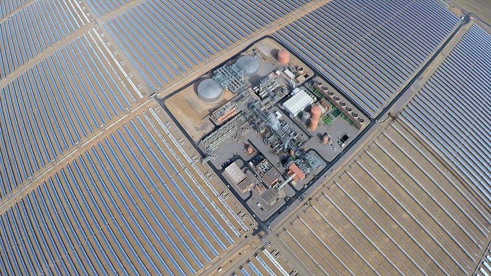 Noor 1 CSP parque heliotérmica - 160 MW