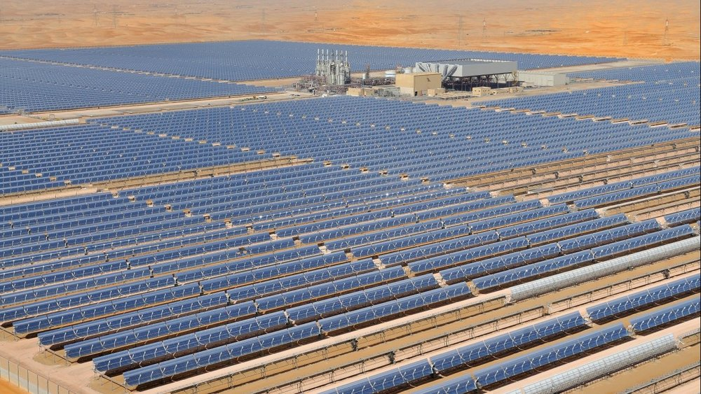Masdar, Shams 1, usina CSP heliotérmica - 100 MW