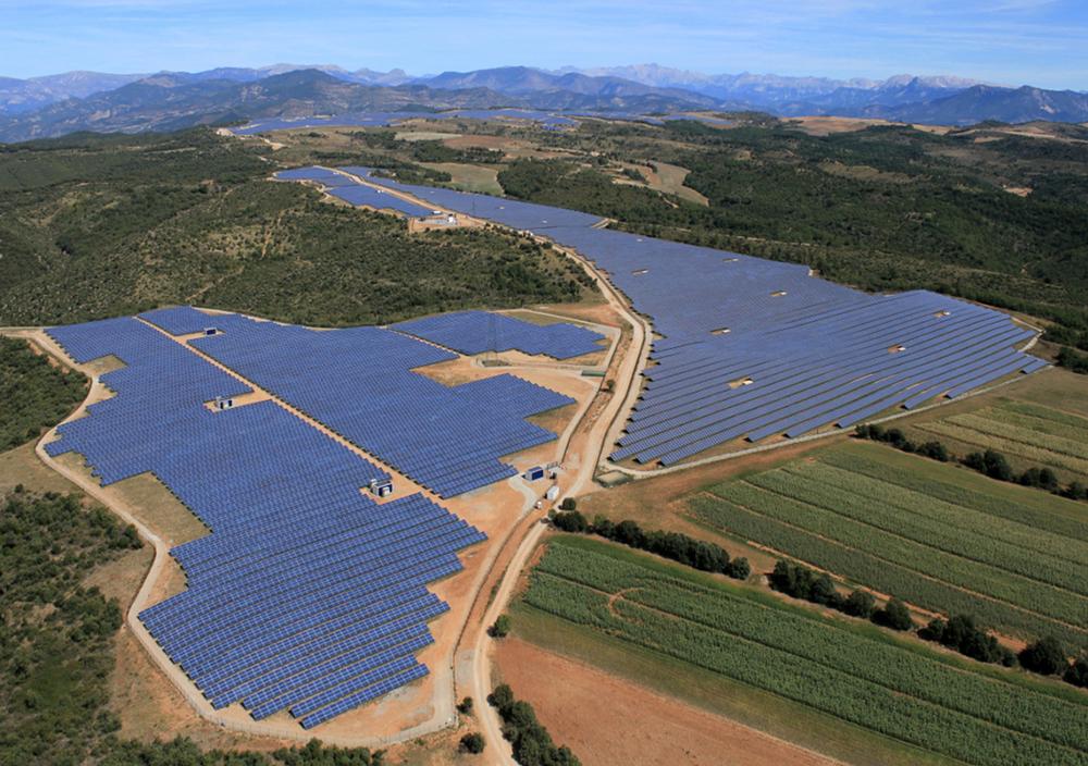 Les Mées usina solar da Siemens