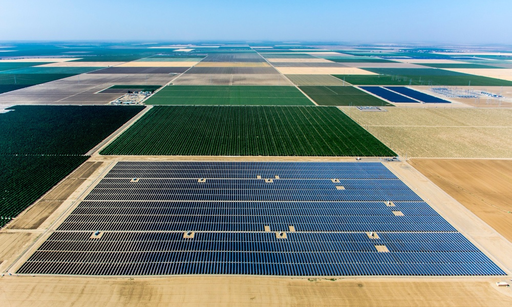 Fazenda solar Central Valley - 20 MW