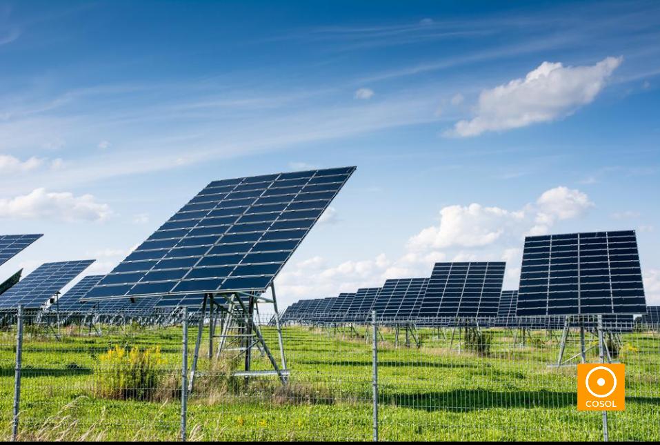 paineis solares + energia solar + cosol