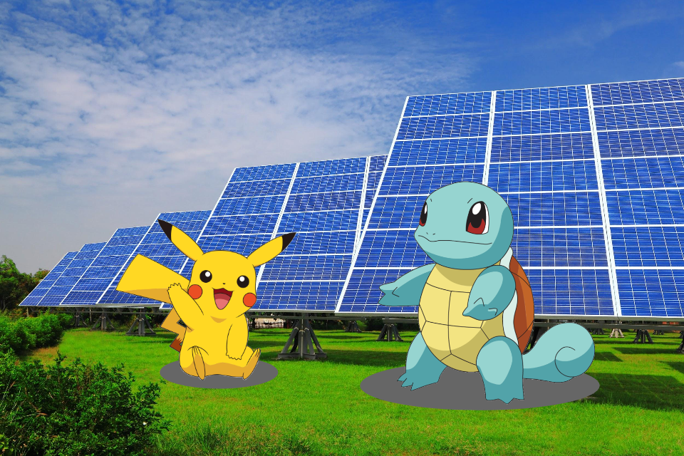 Or hunt Pokemons in a   SOLAR CONDOMINIUM    your solar lot
