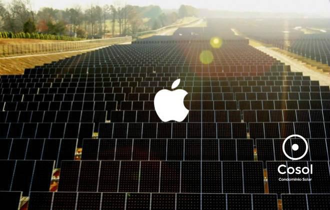 energia limpa + apple +cosol