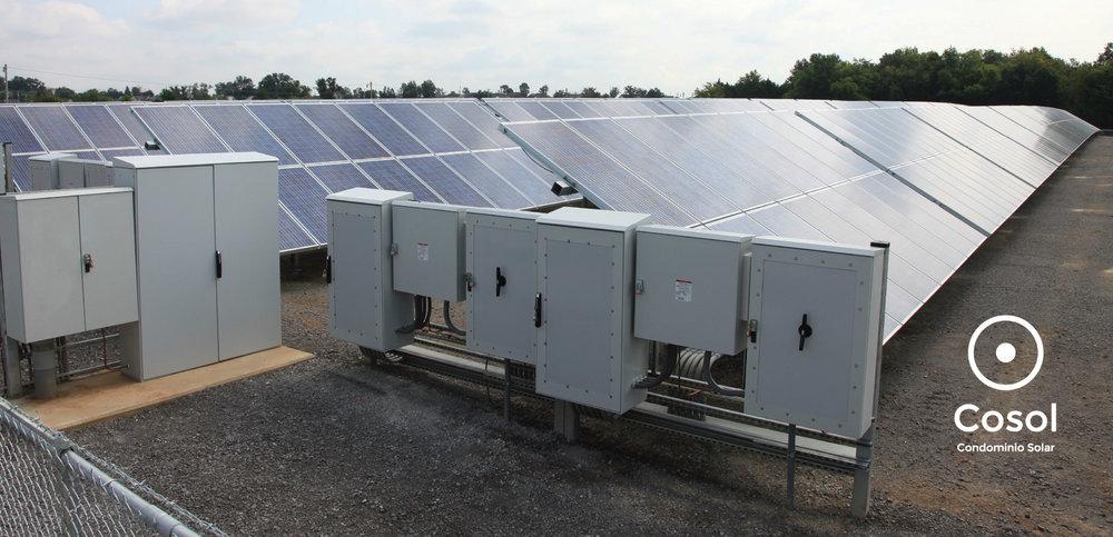 inversor solar + cosol