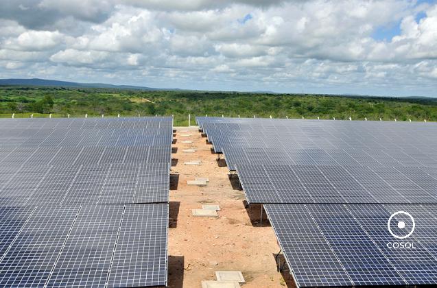 Instalada em Tauá, município do Ceará. (Imagem: Eneva)