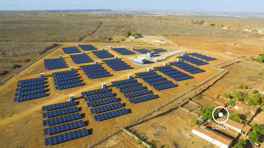 Condomínio solar na cidade de Tabuleiro do Norte.