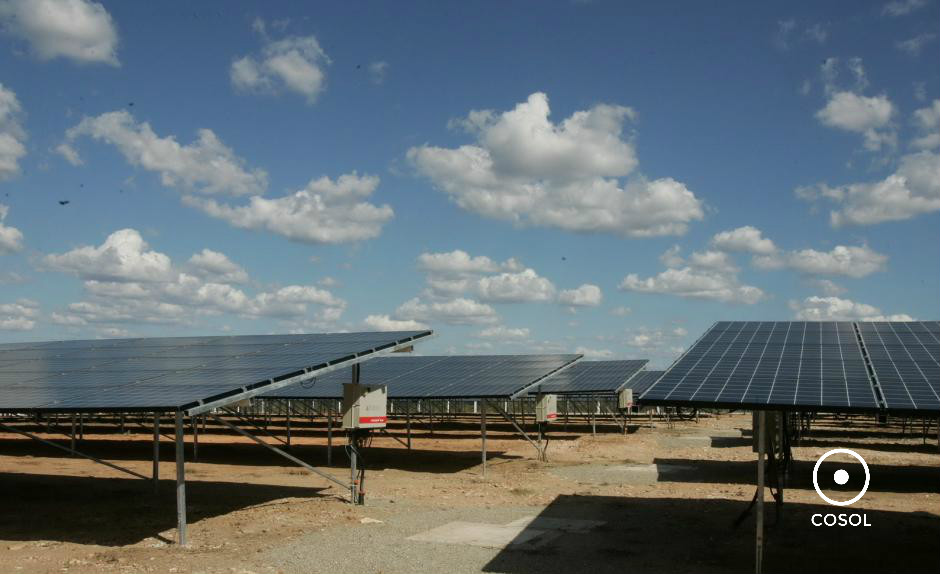 usina solar + cosol
