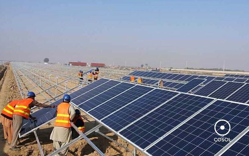 energia solar + usina + cosol