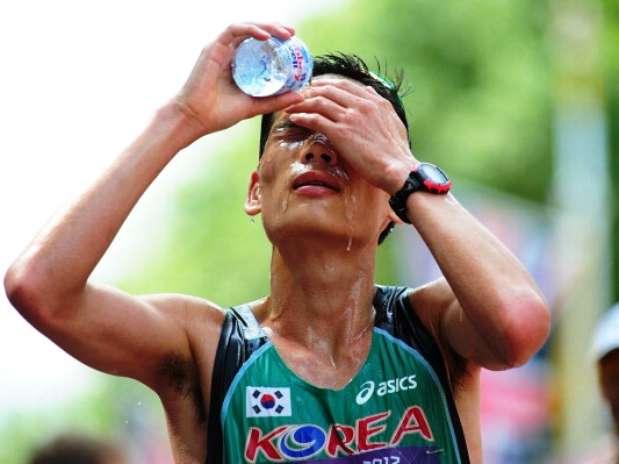 atleta + calor