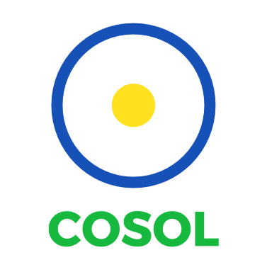 COSOL logo Brazil colours transparent background