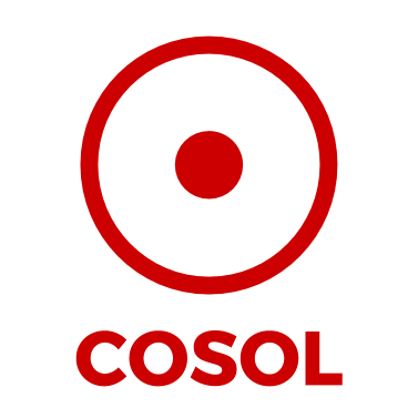 COSOL logo RED transparent background