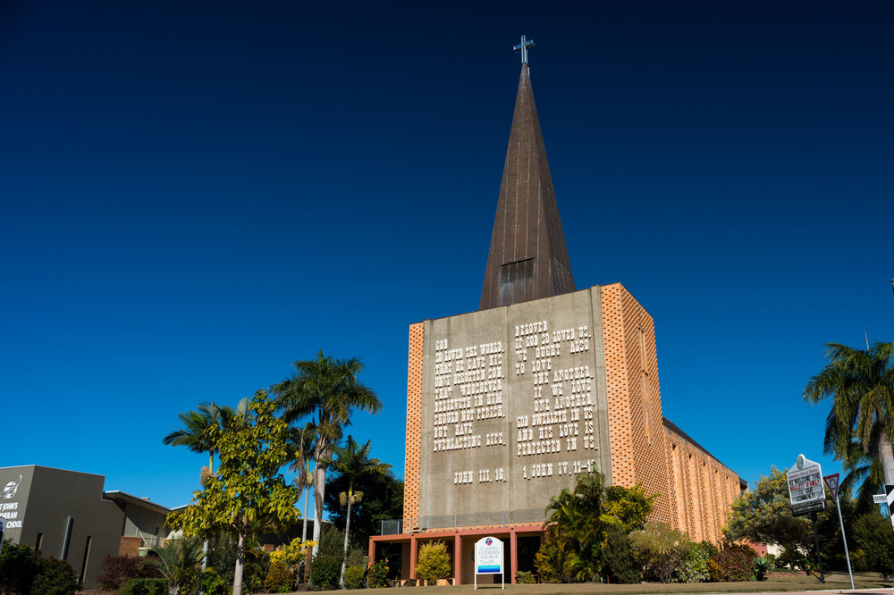 St John's Lutheran Church, Bundaberg, Queesland