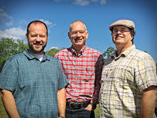 Nate Wilkerson, Student Minister; Steve Jones, Preaching Minister;and Scott Blount, Associate Minister.