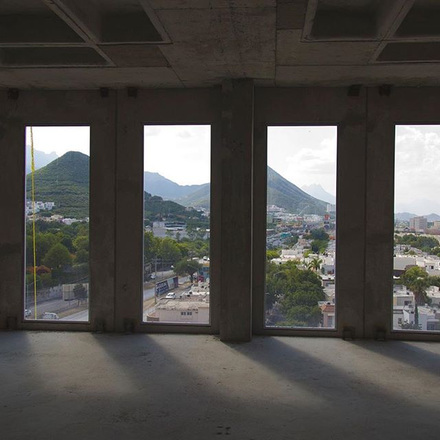 Looking for a nice view? Quadra Towers - 🏢🚧 #architecture #quadratowers #monterrey