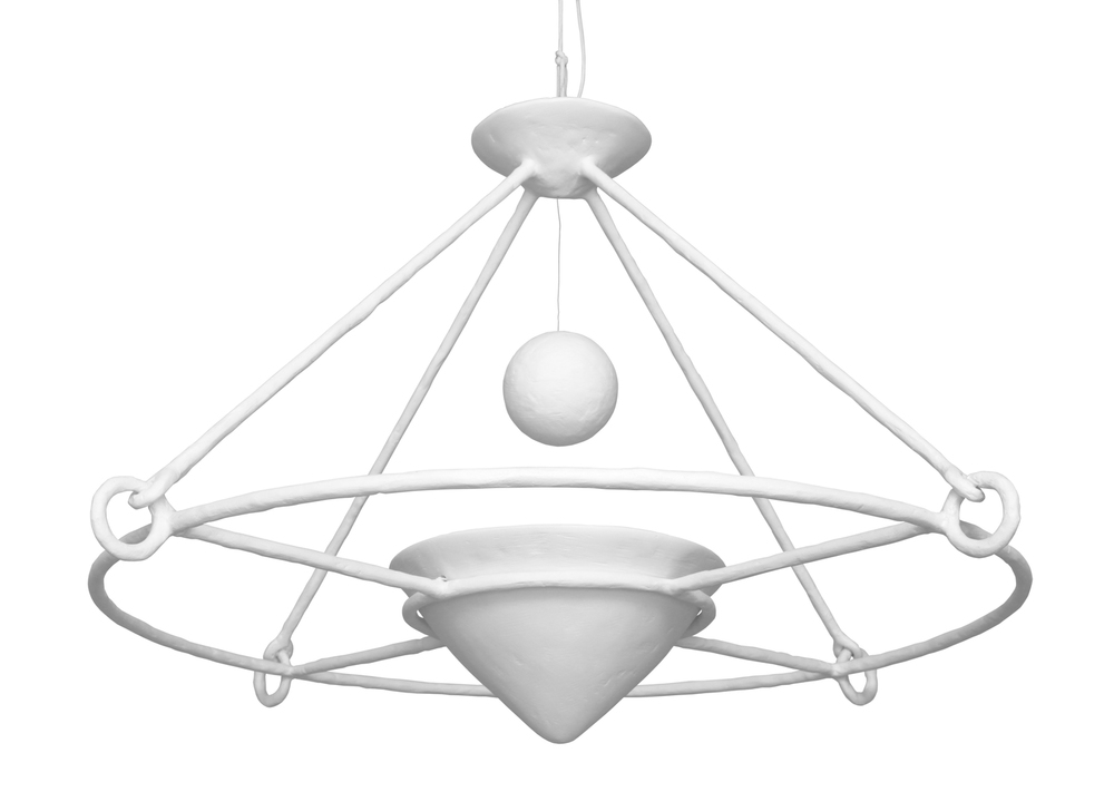 "EARLE CHANDELIER  52"" DIA x 33"" H"