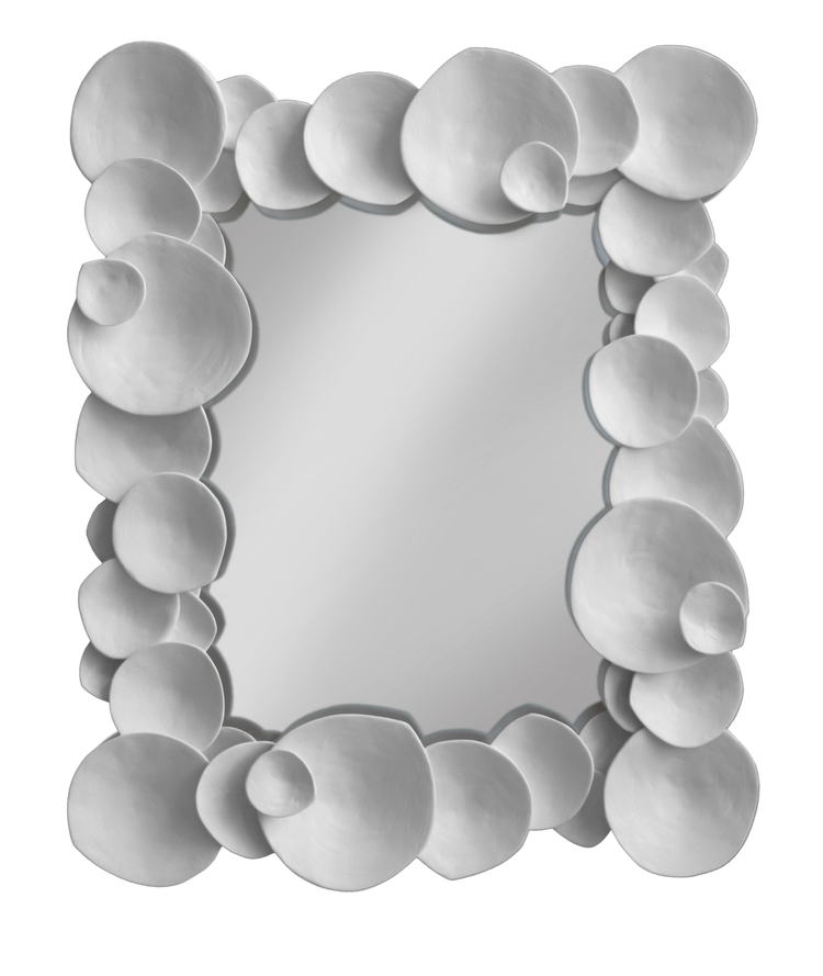 "SHELL MIRROR  32"" W x 40"" H   customizable"