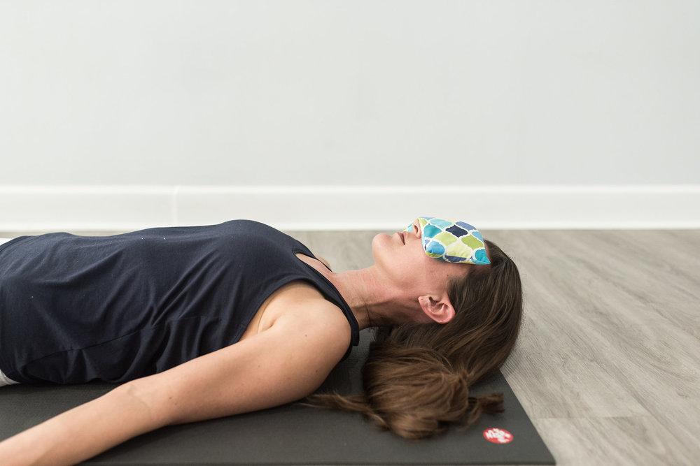 Yoga Nidra Savasana Eye Pillow
