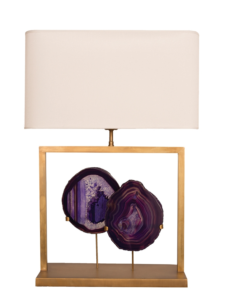 BRASILIA LAMP 2-PURPLE-106