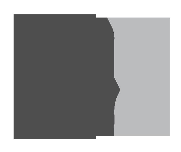 Cylindre shape.