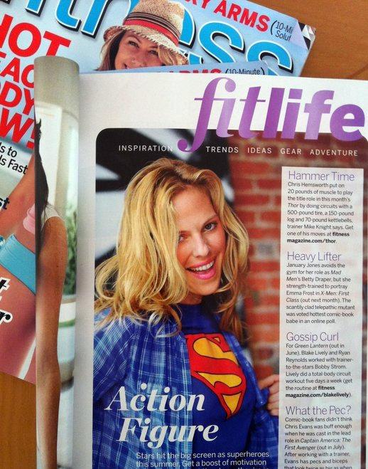 Christina Caruso Featured In Fitness Magazine
