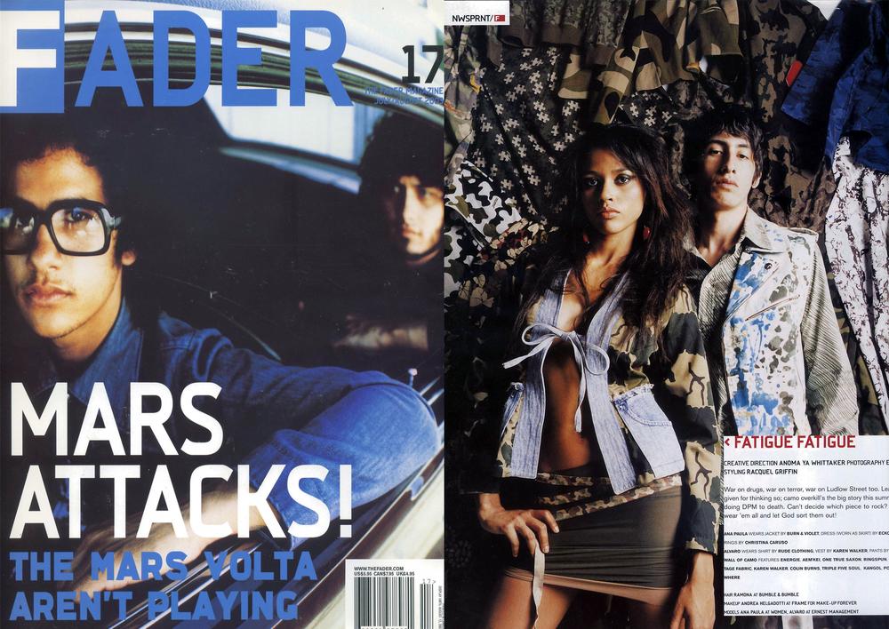 Christina Caruso Jewelry Design Featured In Fader Magazine