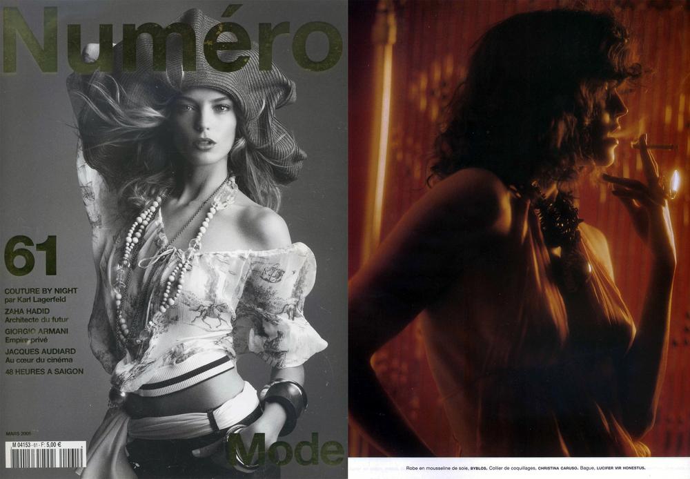 Christina Caruso Jewelry Design Featured In Numéro Magazine