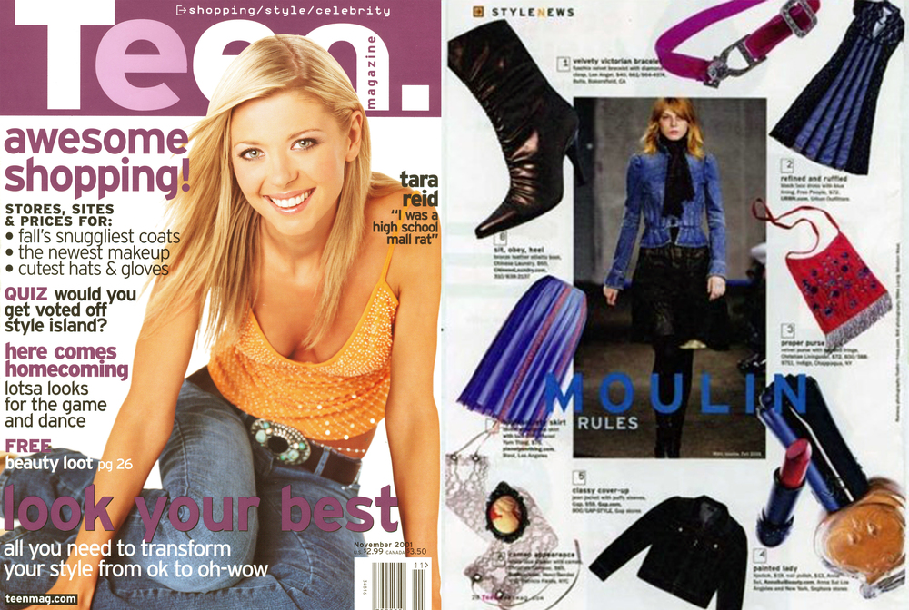 Christina Caruso Jewelry Design Featured In Teen Magazine
