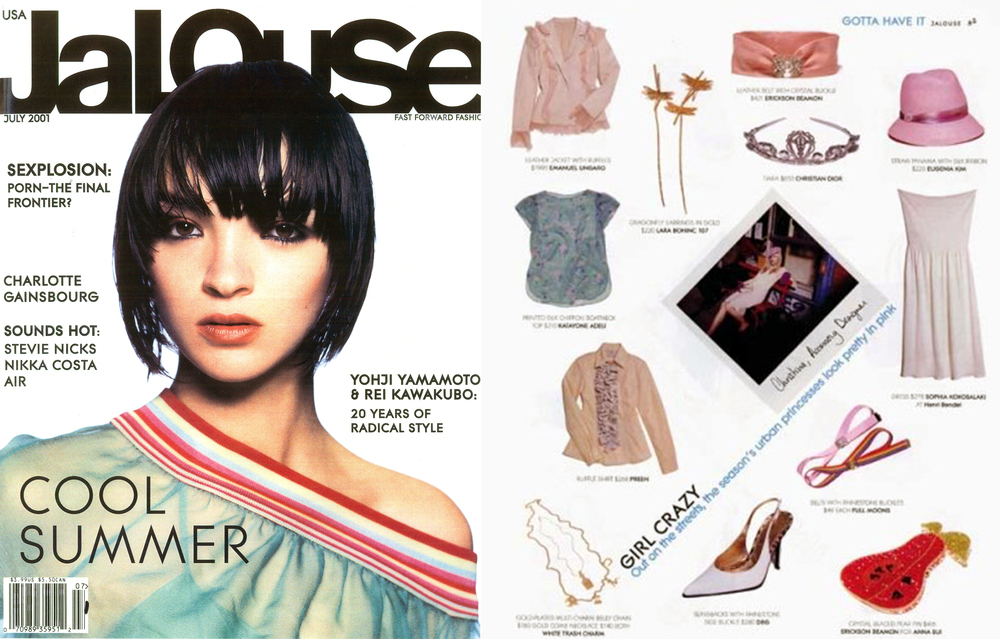 Christina Caruso Jewelry Design Featured In Jalouse Magazine