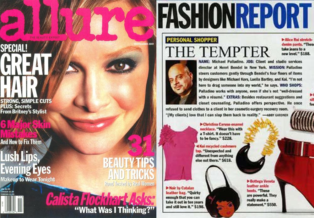 Christina Caruso Jewelry Design Featured In Allure Magazine