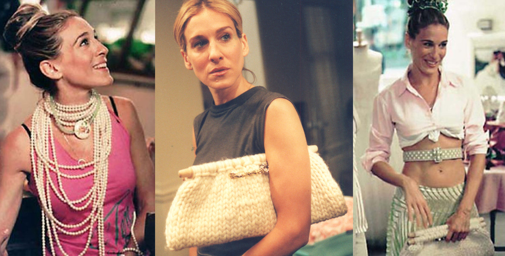 Christina Caruso Accessory Design Featured In Seasons 4 and 5 of Sex and the City